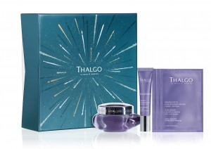 HYALURONIC GIFT BOX 2019 zestaw świąteczny thalgo Hyaluronic Cream 50 ml + Hyaluronic Filler 15 ml + Hyaluronic Eye patches 3 x 1,5ml