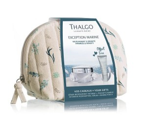 Thalgo MARINE BEAUTY POUCHES - EXCEPTION MARINE zestaw Redensifying Cream 50 ml Intensive Redensifying Serum 10 ml